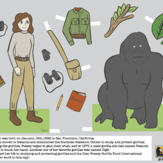 dian-fossey-paper-doll-pages