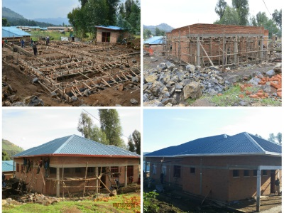 The maternity ward's progress from August to October 2015