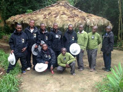 Field staff in Nkuba