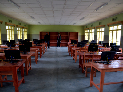 New Bisate Learning Center has 36 computers