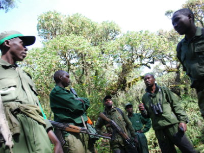 Anti-poaching activities are a fundamental part of park management