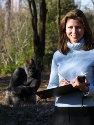 Fossey Fund President and CEO Dr. Tara Stoinski at Zoo Atlanta