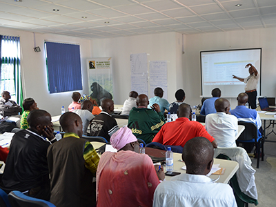Teachers training at Karisoke in December 2015