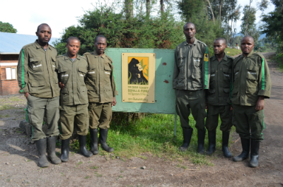 (Left to right) Olivier Hodari, Fred Mandela, Simon-Pierre Ndagijimana, Claude Mahoro, Janvier Bunani, and Thomas Habanabakize