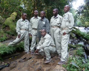 Biruwe base camp field technicians