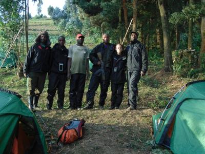 Fossey Fund census staffers