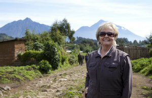 Dian Fossey Gorilla Fund President and CEO Clare Richardson