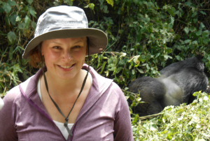 Colleen Cassity visits the gorillas