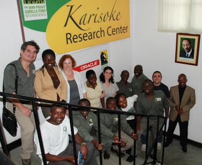 Oracle's Colleen Cassity visits Karisoke