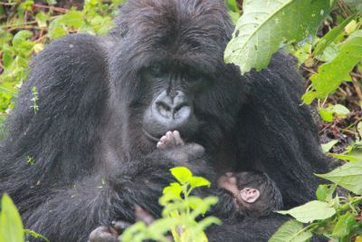 Inziza and her newborn