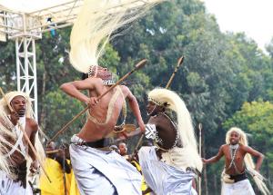 Dancers at the 2012 Kwita Izina ceremony