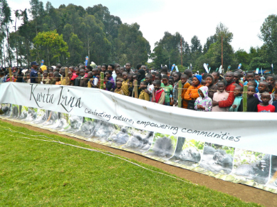Rwandans celebrate infant gorillas at the annual Kwita Izina naming ceremony