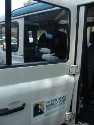 Transporting the second confiscated infant to Senkwekwe
