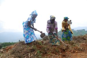 Kasugho women's group farming