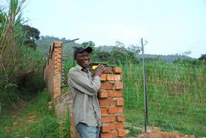 Construction of enclosure at GRACE