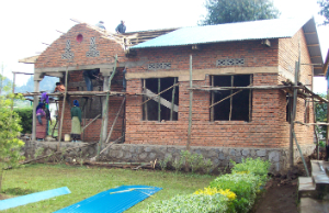 Constructing the new Bisate Clinic hospital building