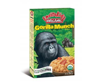Gorilla Munch cereal benefits gorilla conservation