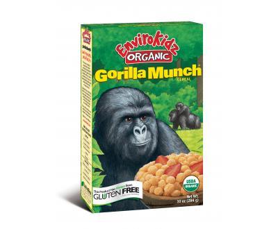 Gorilla Munch cereal benefits gorilla conservation