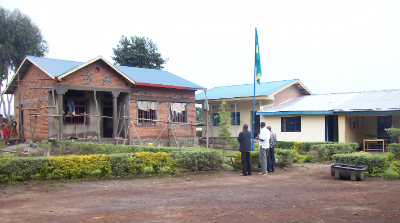 New Bisate Clinic hospital ward under construction