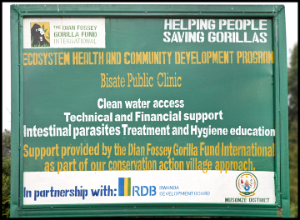 Bisate Clinic sign