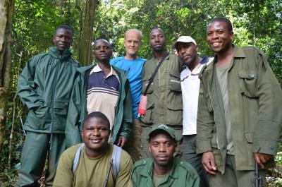 Bwindi census team members. Photo courtesy of IGCP.