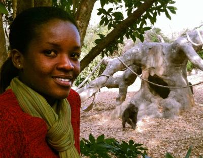Bernadette Arakwiye at Zoo Atlanta