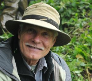 Ted Turner on a 2009 trek to see mountain gorillas in Rwanda