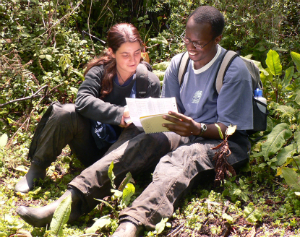 Veronica with Felix Ndagijimana in 2006