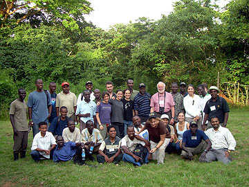 A pre-conference workshop brought together many young primatologists.