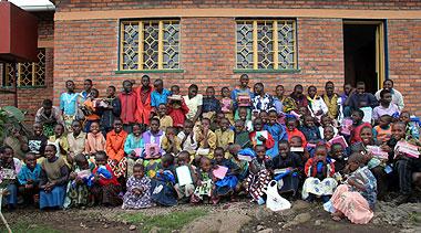 Bisate School Materials Distribution Day