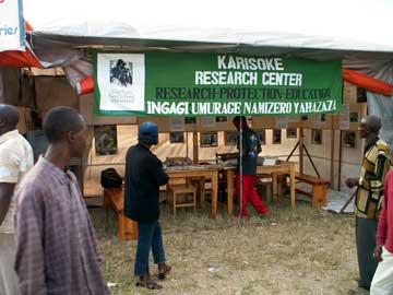The Karisoke exhibit at the Ruhengeri Mini-Expo