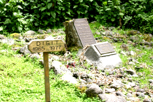 Fossey was buried next to Digit at Karisoke