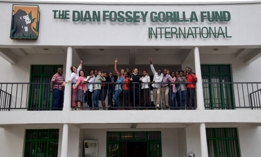 Dian Fossey Gorilla Fund training hundreds of local college students each year