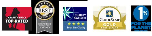 Financial accountability ratings logos