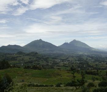 Sabyinyo, Gahinga, and Muhabra volcanoes