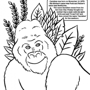 Cantsbee Coloring Page